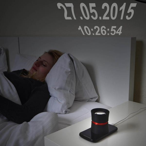 DreamMe Smartphone Projector Time and Date